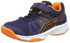 Asics Pre-upcourt Ps, Unisex-Kinder Hallenschuhe, Blau (navy/black/hot Orange 5090), 28 1/2 EU - http://on-line-kaufen.de/asics/28-5-eu-asics-pre-upcourt-ps-unisex-kinder-3