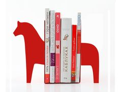 Bookends Dala Horse laser cut from by DesignAtelierArticle, $43.17
