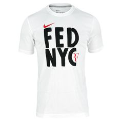 Men`s Roger Federer US Open Tennis Tee for $35.00 available at our site. Check it out.