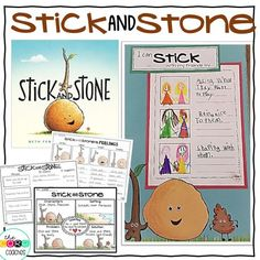 """Teach kids about friendship and bullies with the book """"Stick and Stone."""" Your students will love this heart-warming read-aloud. Social Emotional Development, Social Emotional Learning, Social Skills, Preschool Friendship, Friendship Activities, School Counselor, Elementary Counseling, Career Counseling, Elementary Schools"""