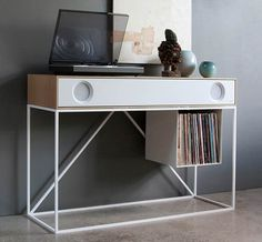 The Symbol Audio Stereo Console ($3,695) is the whole package and then some. It not only looks like an incredibly refined, handcrafted piece of furniture, it sounds like an absolute dream, and it's so versatile it can accommodate practically any audio input source imaginable.