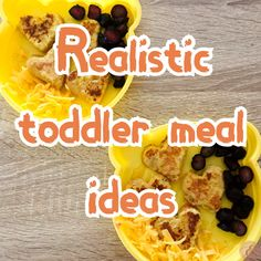 Here are a few realistic toddler meal ideas that I have put together for you that our girls enjoy. A lot! Eat You Out, Twin Toddlers, Twin Mom, Toddler Meals, Eating Well, Meal Ideas, Beef, Ethnic Recipes, Girls