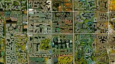 30 Breathtaking Satellite Photos That Will Change How You See Our World. Boca Raton, Florida, USA pinned from Bored Panda Satellite Photos Of Earth, Photo Satellite, Earth Photos, Ville New York, Our Planet Earth, Birds Eye View, Photo Projects, Aerial Photography, Landscape Photography