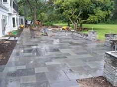 Patios Stone Patio Stone Paver Build Patio Flagstone