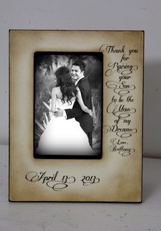 Thank you for Raising your son to be the Man of my dreams by DeSiLuCoLLecTioN, $45.00