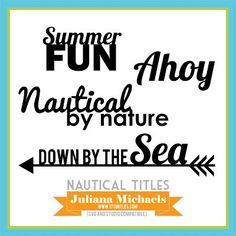 nautiques par fichier Nature Cut gratuit