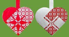 Kreative idéer | Klip og flet de sødseste julehjerter