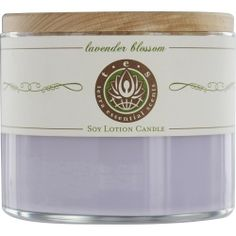 Lavendar Blossom soy lotion candle