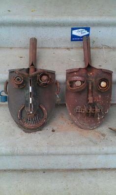 2 of 20 shovel faces