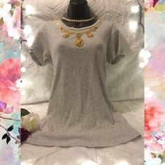 """▪️J. Crew▪️ embellished tee Gorgeously detailed crew neck tee by J. Crew. All embellishments intact. Made of 100% cotton. Measurements: length 26"""", bust 15"""", waist 15"""". Measurements are approximate & were taken with garment lying flat. Reasonable offers welcome through the offer button only. ❌NO trades❌ Please do not hesitate to ask questions! Thanks for looking!  J. Crew Tops Tees - Short Sleeve"""