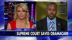 """Ben Carson said on tonight's """"Kelly File"""" that ObamaCare """"violates the whole tenor of America."""""""