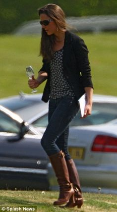 THE PERFECT BOOTS - 5/10/2009: Audi Polo Challenge charity match at Guards Polo Club (Windsor, Berkshire)