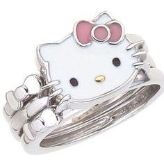 Sanrio Hello Kitty, Hello Kitty My Melody, Hello Kitty House, Hello Kitty Items, Cute Jewelry, Jewelry Accessories, Cross Jewelry, Hello Kitty Jewelry, Hello Kitty Pictures