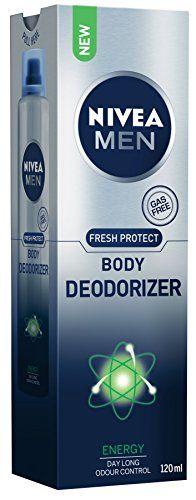 #1: Nivea Men Fresh Protect Body Deodorizer Energy 120ml