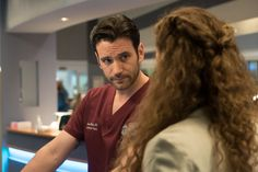 "Chicago Med - Season 2CHICAGO MED -- ""Monday Mourning"" Episode 217 -- Pictured: Colin Donnell as Connor Rhodes -- (Photo by: Elizabeth Sisson/NBC)"