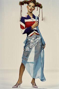 John Galliano Spring 1993 Ready-to-Wear Fashion Show - Kate Moss