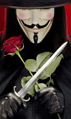 """You're like a millennial Natalie Portman. Like I'm V for Vendetta. Guy Fawkes, Natalie Portman, V For Vendetta Tattoo, V Pour Vendetta, Vendetta Mask, Ideas Are Bulletproof, The Fifth Of November, Rauch Fotografie, Kino Film"