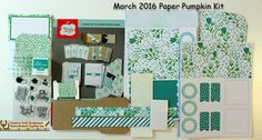 March Paper Pumpkin March Paper Pumpkin Projects #paperpumpkin, #rubberredneck, Stampin' Up! Demonstrator Holly Krautkremer