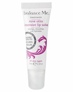 Balance Me Rose Otto Intensive Lip Salve £7.95