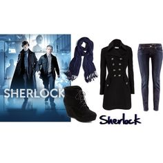 Sherlock inspired outfit #1