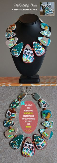 The Butterfly's Dream – Necklace | VeruDesigns, LLC