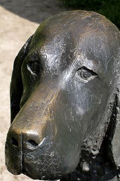 Animals in War Memorial (detail) honours the millions of conscripted animals that served, suffered and died alongside British forces at  Brook Gate, Park Lane, on the edge of London's Hyde Park, London.