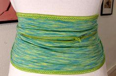 DIY Running Belt on Dress Form