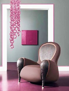 Modern And Unusual Armchair Design Idea