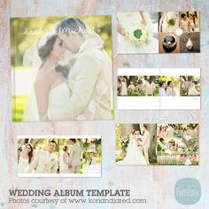 Wedding Album Template Templates to Paper Lark â™?*This clean and stylish wedding album is the perfect offering to your by Paper Lark Photoshop Software, Photoshop Elements, Photoshop Tips, Business Brochure, Business Card Logo, Album Cover Design, Album Photo, Magazine Template, Creative Sketches