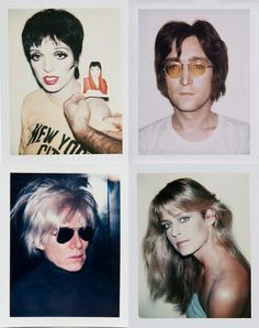 Andy Warhol's photographs@Danziger Gallery, NYC