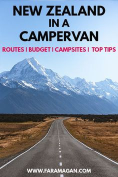 Ultimate guide to a #campervan #roadtrip in New Zealand including hacks for finding cheap campervan hire, the best #campsites, routes, cooking tips and more!
