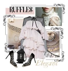"""""""Chic ruffles"""" by cool-cute ❤ liked on Polyvore featuring Philosophy di Lorenzo Serafini and ruffles"""