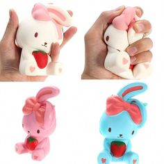 7cm Cute Cartoon Pig With Ear Squishy Toy Decor Kids Squishi Fun Toys Squeeze Xmas Gift Party Props Slow Rising Hot Finely Processed Toys & Hobbies Gags & Practical Jokes