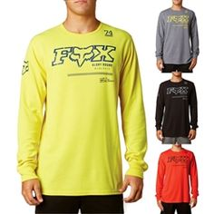 2013 Fox Racing Reforge Thermal Warm Mens Casual Motocross Adult Apparel Shirts