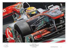 Lewis Hamilton Monaco Limited Edition F1 Art by F1MotorsportArt, £19.99