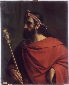Charibert I (c. 517 – November or December 567) was the Merovingian King of Paris, the second-eldest son of Chlothar I and Ingund. His elder brother was Gunthar, who died sometime before their father's death. On Chlothar's actual death in 561, the Frankish kingdom was divided between his sons in a new configuration. Each son ruled a distinct realm, which was not necessarily geographically coherent but could contain two unconnected regions, from a chief city.