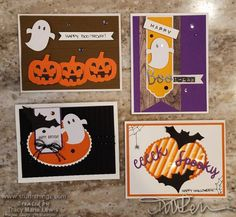 PAPER PUMPKIN FAN CLUB has members. A great place to share our Paper Pumpkin creations and ideas! What are Paper Pumpkin kits? Halloween Make, Halloween Cards, Halloween Themes, Halloween Decorations, Halloween 2018, Fall Cards, Holiday Cards, Thanksgiving Cards, Stampin Up Paper Pumpkin