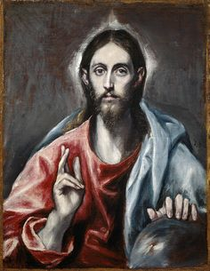 Christ the Redeemer by El Greco ... He came not to judge, but to save us from ourselves.
