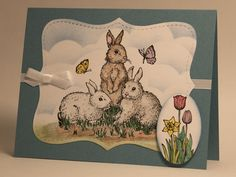 Springtime by AbbysGrammy - Cards and Paper Crafts at Splitcoaststampers