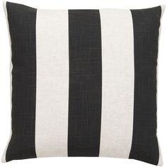 Surya Striking Stripe Throw Pillow | AllModern