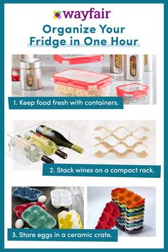 Sign up for access to exclusive sales, all at up to 70% OFF! Store, don't snore. Shop the best prices on everything you need to get your home organized and stylish, from closet storage to office cabinets and more. Plus, enjoy FAST & FREE shipping on thousands of items at Wayfair! Fridge Organization, Household Organization, Organization Ideas, House Cleaning Tips, Cleaning Hacks, Small Best Friend Tattoos, Making Jewelry For Beginners, Beautiful Small Tattoos, Wine Bottle Crafts