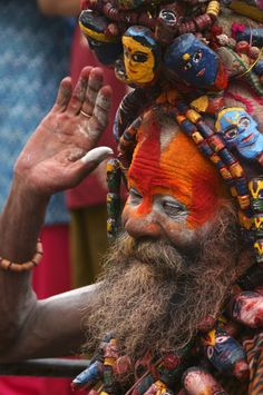by Afzal Khan Religions Du Monde, Cultures Du Monde, Street Photography People, Photography Sites, Aghori Shiva, Celebration Dance, Amazing India, History Of India, Village People