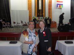 Encontro com a Presidente do Bunkyo - Sra. Harumi Arashiro Goya