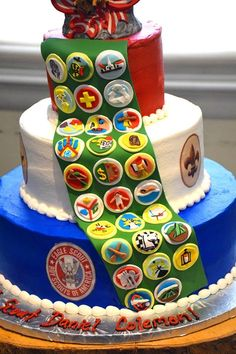 Eagle Scout Ceremony, Birthday Cake, Desserts, Food, Tailgate Desserts, Deserts, Birthday Cakes, Essen, Postres
