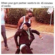 When Your Gym Partner