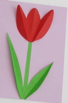 Детские поделки к 8 марта: как ребенку порадовать любимых женщин - рукоделие Spring Crafts For Kids, Needlework, Diy And Crafts, Clip Art, Activities, Paper, Flowers, Board, Tulips