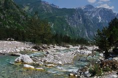 Albania cycling  trip - The river in Theth by ๑۩๑ V ๑۩๑ (back from holidays), via Flickr