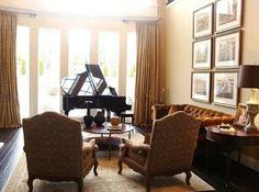 salons de piano petits salons salons traditionnels salles vie room nashville nashville interior nashville leslie newpher interiors