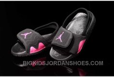 Buy 2015 Latest Summer Nike Air Jordan Kids Flip Flop AJ Black Pink Slippers Online Cheap To Buy from Reliable 2015 Latest Summer Nike Air Jordan Kids Flip Flop AJ Black Pink Slippers Online Cheap To Buy suppliers. Jordan Shoes For Kids, Michael Jordan Shoes, Air Jordan Shoes, Jordan Flip Flops, Kids Flip Flops, Cheap Jordans, Kids Jordans, Nike Kicks, Pink Slippers