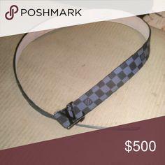 Black Louis Vuitton Belt 100% Authentic Good condition Louis Vuitton Accessories Belts